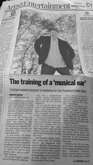 photo of Napa Valley Register Guard article